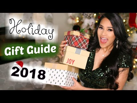 The Best Christmas Gifts For Her! Holiday Gift Ideas 2018 MissLizHeart