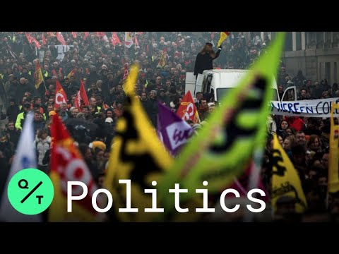french-union-activists-march-on-sixth-day-of-retirement-reform-protests