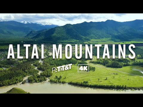 RTTT The Altai 4K Drone Video: Amazing Nature Scenery | Travel To Russia