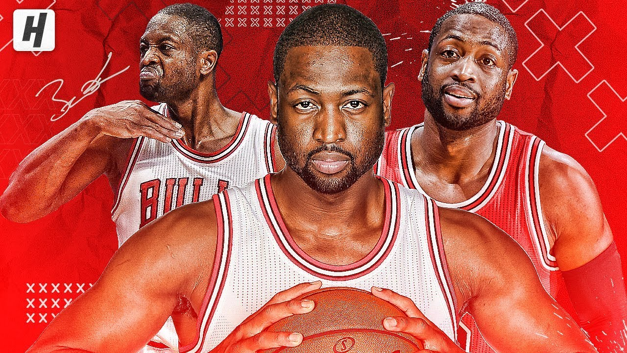 Dwyane Wade VERY BEST Highlights & Moments with Chicago Bulls!