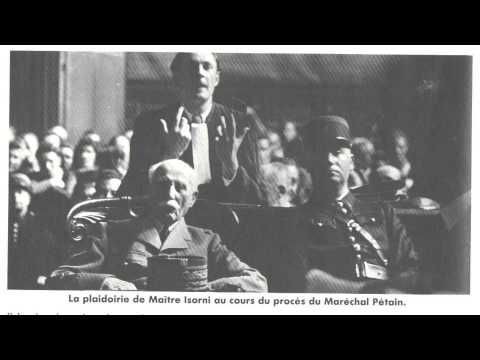 Le procès Pétain 1/15 (Feuilleton / France Culture)