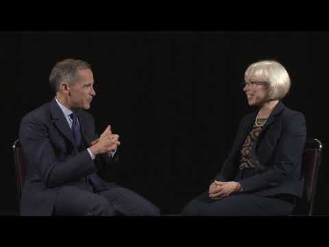 CPA's Joy Thomas talks climate change and the role of accountants with BoE Governor Mark Carney