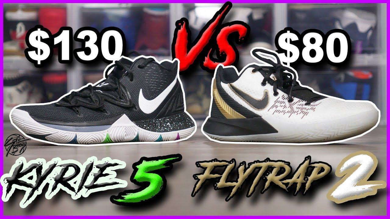 Nike Kyrie 5 vs Kyrie Flytrap 2