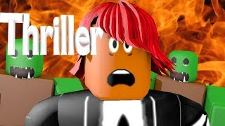 ROBLOX ANIMATED MUSIC VIDEO - Thriller [Michael Jackson]