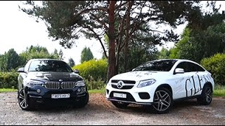 Mercedes-Benz GLE Coupe vs BMW X6 vs GAZ-69