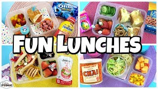 NEW Lunch Ideas 🍎 Fixing YOUR  Lunches