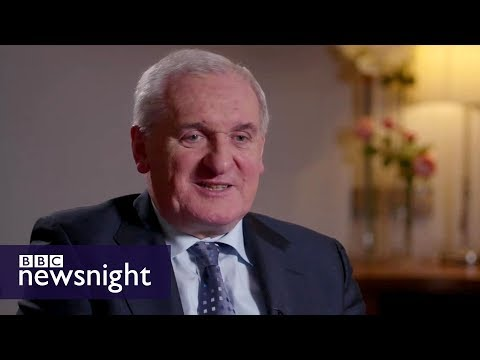 Good Friday Agreement 20 years on: interview with Bertie Ahern - BBC Newsnight