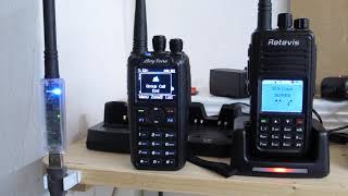 rX Test AnyTone 878 vs Retevis RT3