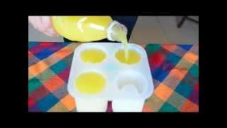 Shoterizador: Cómo hacer vasos de hielo para shots