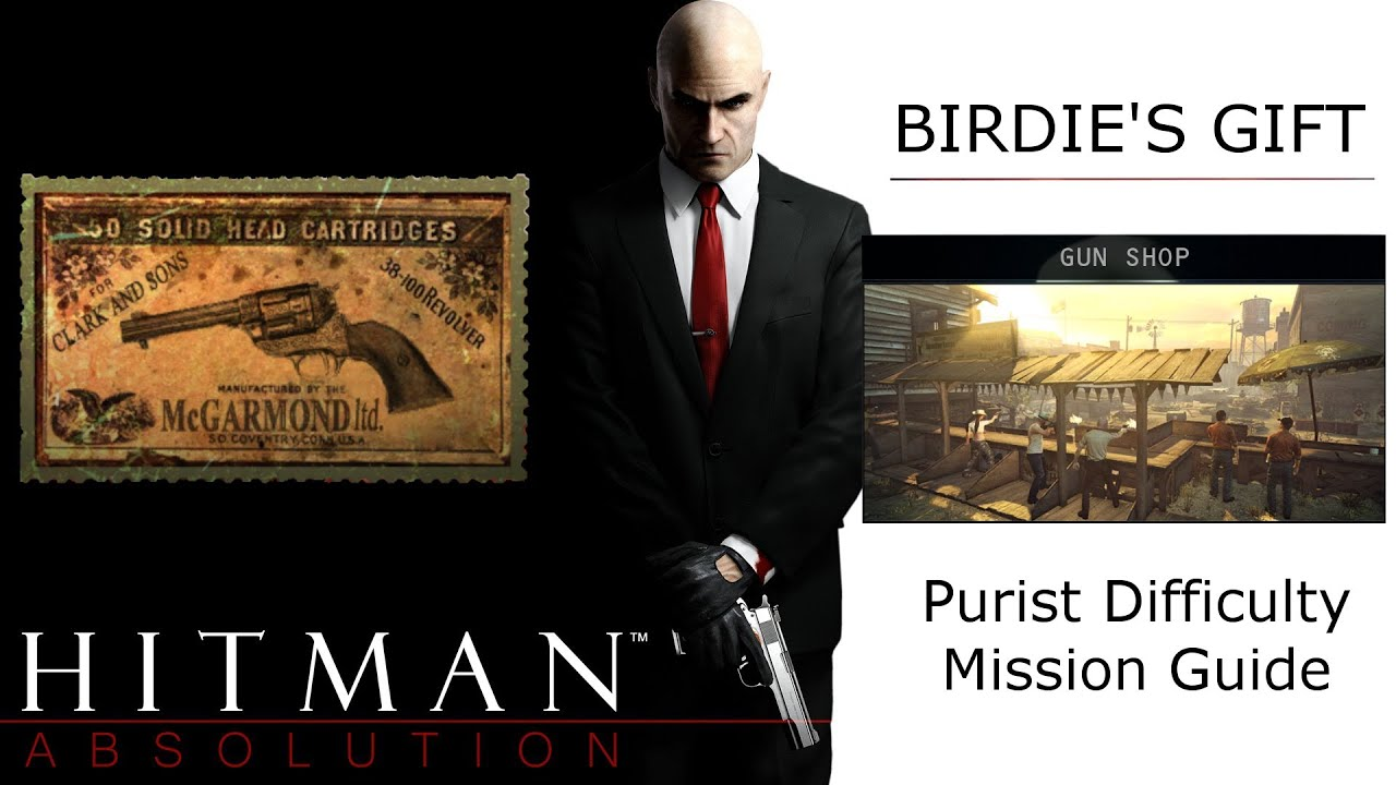 Hitman Absolution Guide Birdie S Gift Gun Shop Recovering Silverballers Without Target Shooting Youtube
