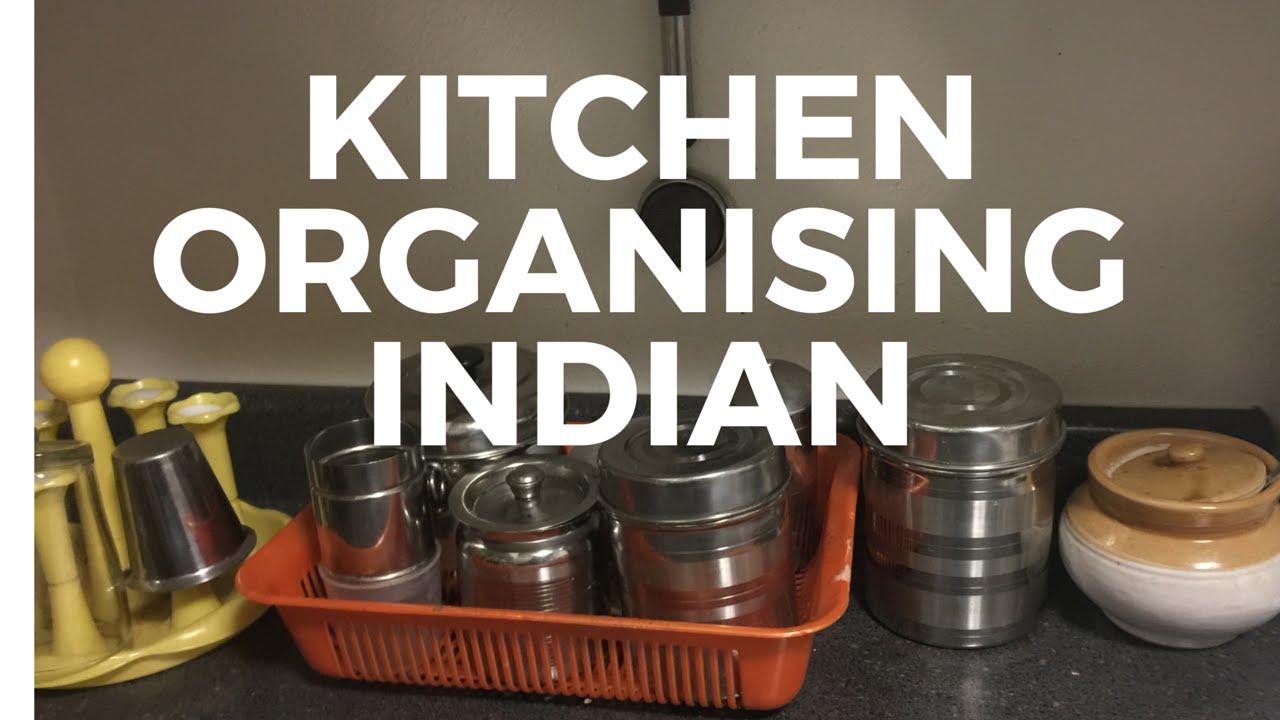 Kitchen Organising Near Gas Stove Stovetop