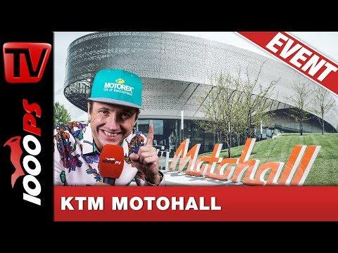 KTM Paradies in Mattighofen - Motohall Rundgang mit der 1000PS Community