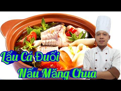 Hướng Dẫn Món Lẩu Cá Đuối Nấu Măng Chua / Món Ăn Tiệc