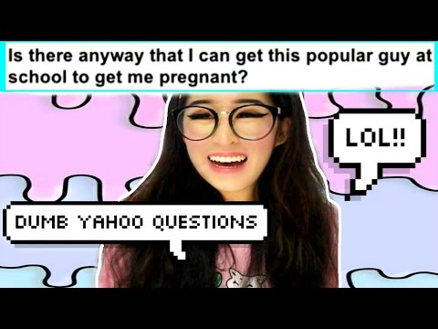 REACTING TO DUMB AND HILARIOUS YAHOO ANSWERS!