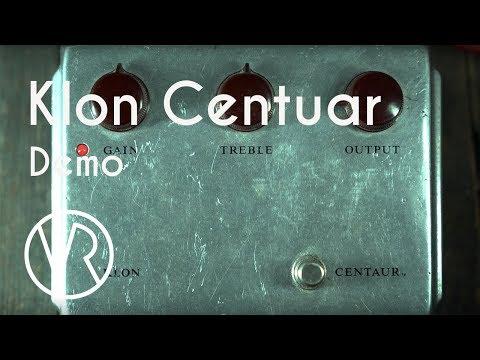 Klon Centaur / Pedal Demo / VintageandRare.com