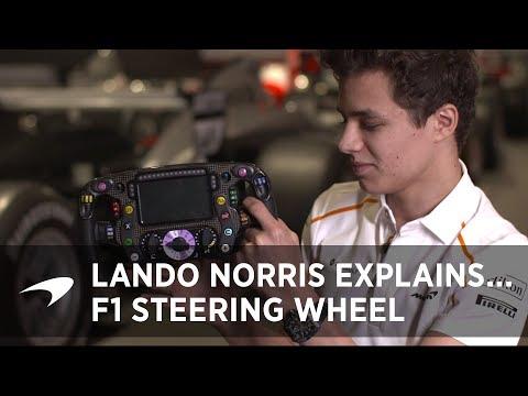 Lando Norris Explains... The F1 Steering Wheel