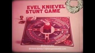 Evel Knievel Stunt Game Toy Commercial 1975