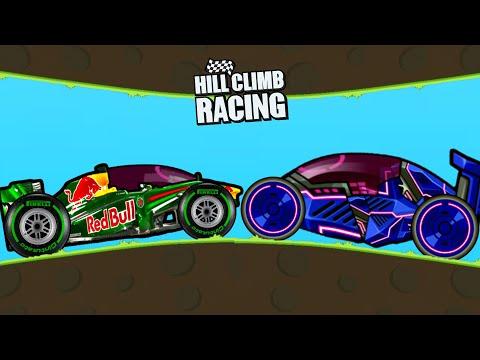 Hill Climb Racing Vs Hill Climb Racing 2 - Redbull Formula And Nikita Formula