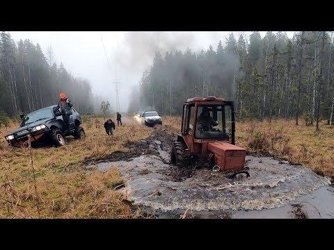 Турбо-Тракторист против джиперов!