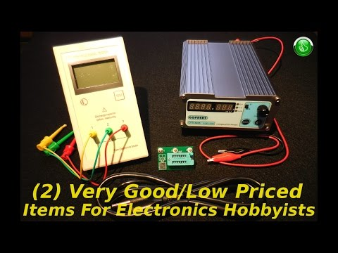 (2) Very Good/Low Priced Items For Electronics Hobbyists