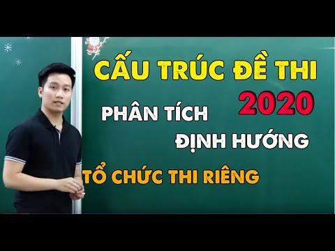 Cấu Trúc Đề Minh Họa 2020 Phân Tích Định Hướng – Thầy Nguyễn Quốc Chí