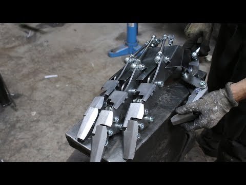 Building a humanoid robot, part 1, making a hand.