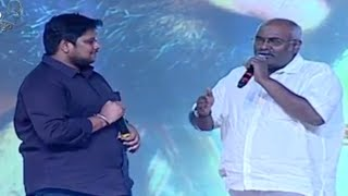 MM Keeravani Teasing Hari Gaura Funny @ Tungabhadra Audio Launch