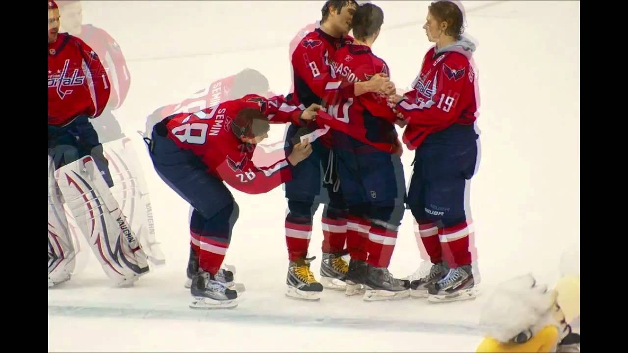 Alex Semin New Fight Strap Incident - YouTube f0d63b32c82