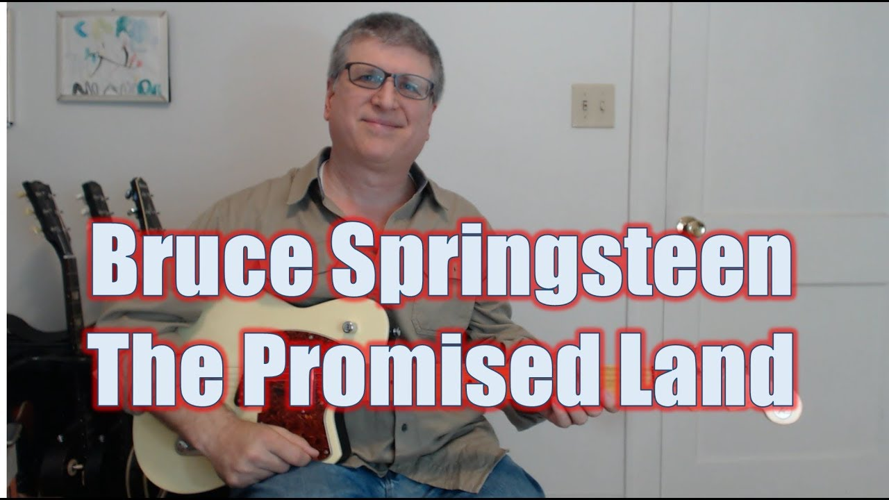 The Promised Land Bruce Springsteen Guitar Lesson With Tab Youtube