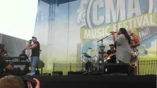 Jesse Keith Whitley Preforming Miami,My Amy with his mom Lorrie Morgan