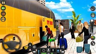 Bus games 2021/Modern Bus Parking Mode/ bus driving game 2021 screenshot 3
