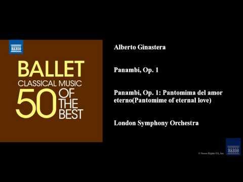 Alberto Ginastera, Panambi, Op. 1