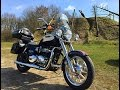 A Triumph cruiser ride out to the local gravel pit