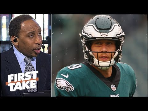 Nick Foles and the Eagles have slim to no chance vs. Bears - Stephen A. l First Take