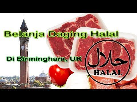 Belanja Daging Halal di Birmingham, Inggris (UK). dengan info Harga