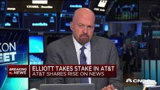 Cramer on Elliott Management's stake in AT&T: It's about execution