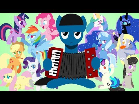 Brony Polka Animated - A My Little Pony Fandom Tribute
