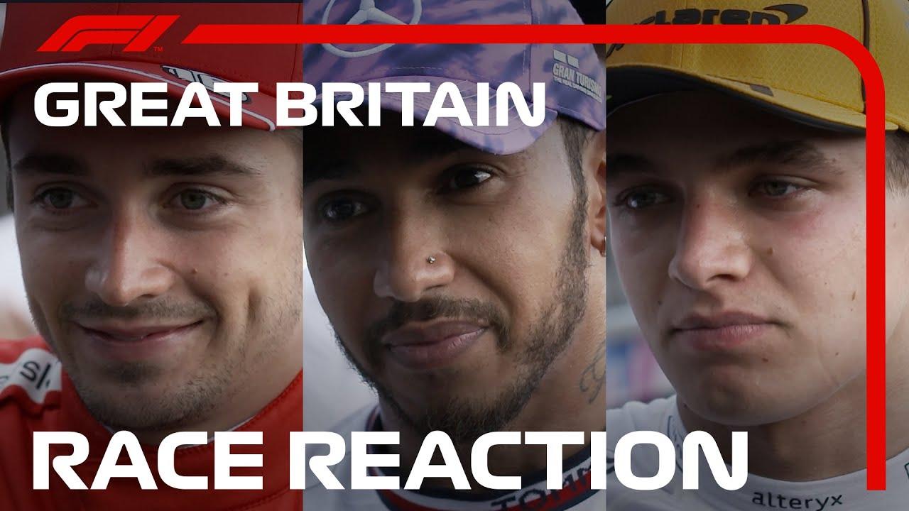 F1 Review: Peak Lewis Hamilton Wins British Grand Prix After ...