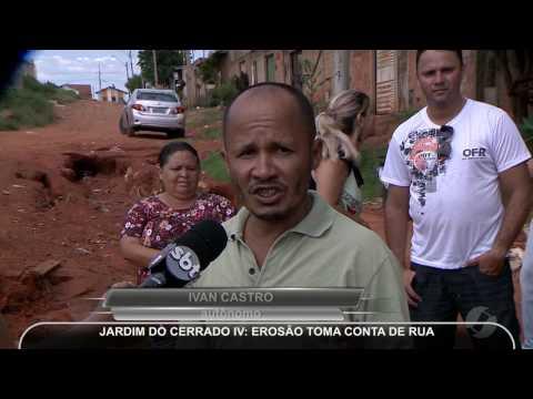 JMD (10/01/17) - Erosão toma conta de rua...