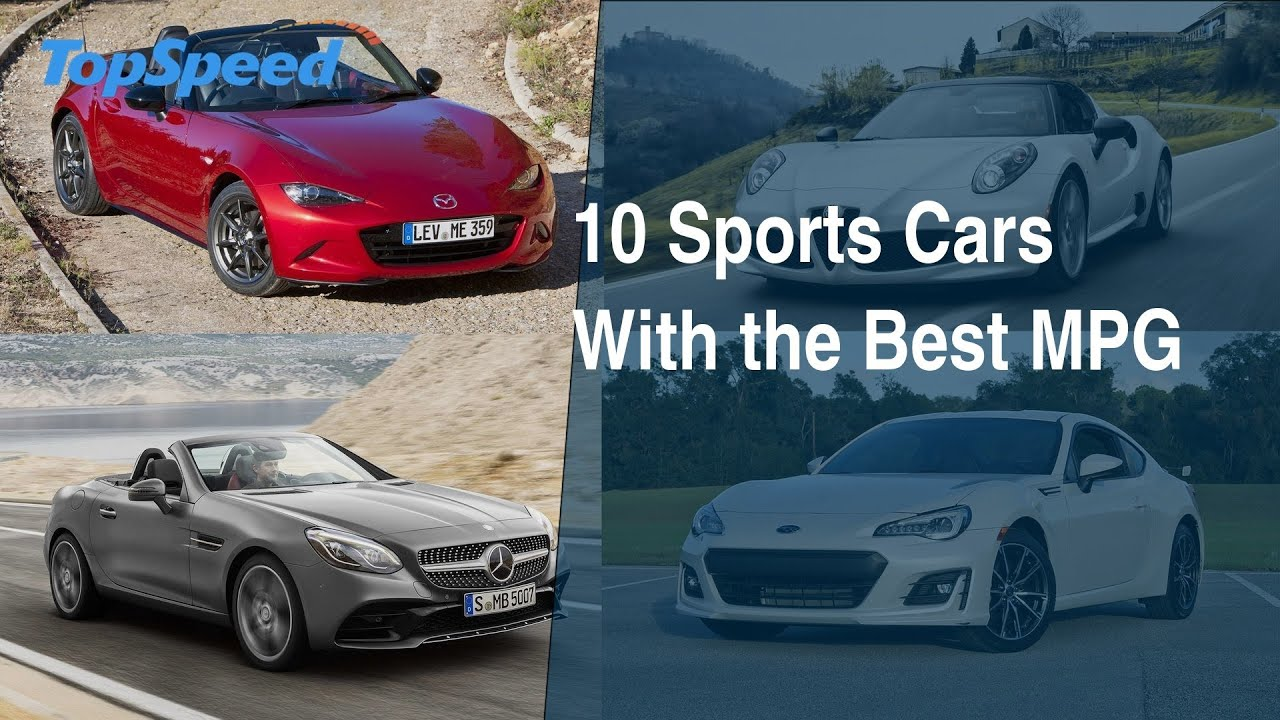 10 Sports Cars With The Best MPG