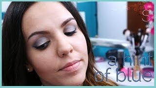 A Hint of Blue - Make-Up Tutorial mit neuen SIGMA Brushes! Thumbnail