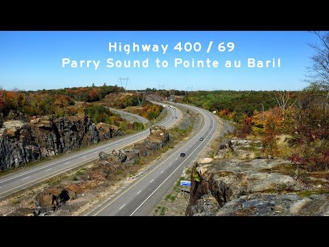 2016/09/30 - Hwy 400 and 69 Parry Sound and Beyond