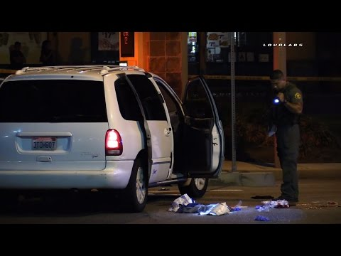 Shooting After High School Football Game / Moreno Valley  RAW FOOTAGE