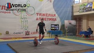 ЗАХАРОВ/ZAKHAROV (69,М-45) 80-84-86/108-113-116х. Russian Masters Cup -2017.
