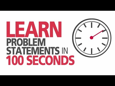 What is a Problem Statement?