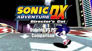Sonic Adventure DX - GC VS PC Comparison [Gameplay]