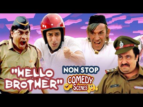 मैं तुम्हारी पुंगी बजाऊँगा! | Best Hindi Comedy Scenes | Hello Brother | Johny Lever - Salman Khan