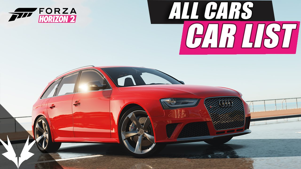 Forza horizon 2 all cars list gameplay xbox 360 quot all cars