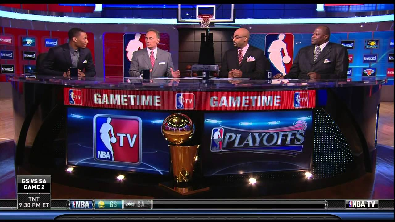 Damian Lillard joins the set of NBA TV  YouTube