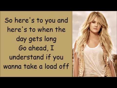 Carrie Underwood ~ Smoke Break (Lyrics)